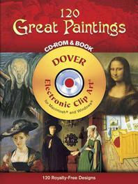 120 Great Paintings [With CD-ROM]