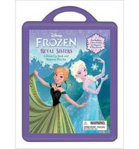 Frozen Book and Magnetic Play Set