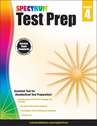 Spectrum Test Prep Grade. 4