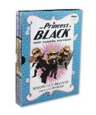 The Princess in Black 1-3 Book set : 블랙 프린세스 1-3권 세트