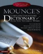 [해외]Mounce's Complete Expository Dictionary of Old & New Testament Words