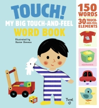 [해외]Touch! My Big Touch-And-Feel Word Book