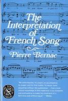 [해외]The Interpretation of French Song