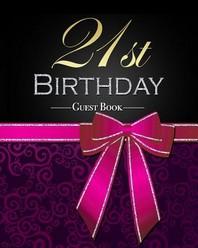 [해외]21st Birthday Guest Book