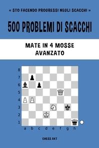 [해외]500 problemi di scacchi, Mate in 4 mosse, Avanzato