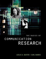 The Basics of Communication Research (with Infotrac) [With Infotrac]
