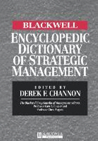Blackwell Encyclopedic Dictionary of Strategic