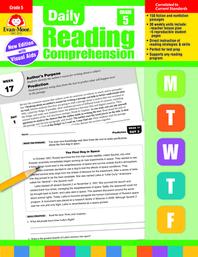 [해외]Daily Reading Comprehension, Grade 5 (Paperback)