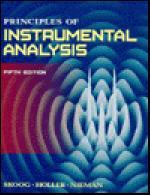 Principles of Instrumental Analysis 5/E