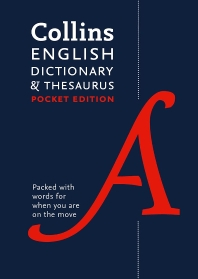 Collins Pocket - Collins English Dictionary and Thesaurus