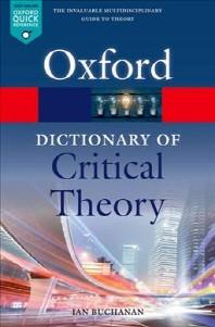 [해외]A Dictionary of Critical Theory