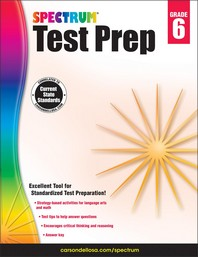 Spectrum Test Prep Grade. 6