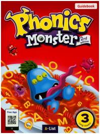 Phonics Monster. 3: Long Vowels(Guidebook)(2판)(CD2장포함)