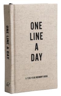 Canvas One Line a Day (하루에 한 줄, 5년의 일기 - 캔버스)