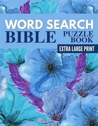[해외]Word Search Bible Puzzle Book - Extra Large Print