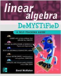 [해외]Linear Algebra Demystified