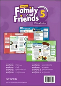American Family and Friends 2E 5 Writing Posters