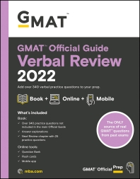 [해외]GMAT Official Guide Verbal Review 2022