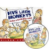 베오영 Five Little Monkeys Bake a Birthday Cake (원서&CD)