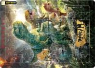 80조각 퍼즐. 2: 점박이 한반도의 공룡2(퍼즐)