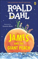 [해외]James and the Giant Peach (Paperback)