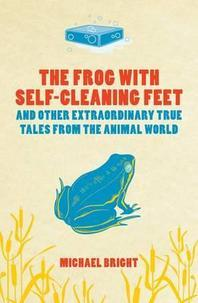 Frog With Self-Cleaning Feet