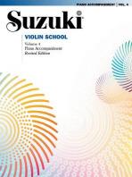 [해외]Suzuki Violin School, Vol 4 (Paperback)