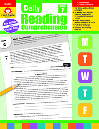 [해외]Daily Reading Comprehension, Grade 7 (Paperback)