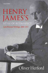 Henry James's Style of Retrospect
