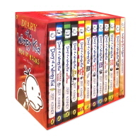 Diary of a Wimpy Kid Collection (12 Books)