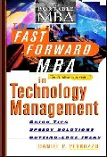 Fast Forward MBA in Technology Management