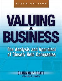 [해외]Valuing a Business, 5th Edition