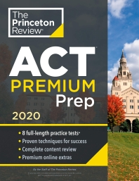 [해외]Princeton Review ACT Premium Prep, 2020