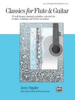 Classics for Flute and Guitar