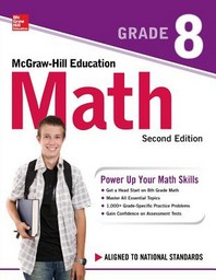 [해외]McGraw-Hill Education Math Grade 8, Second Edition