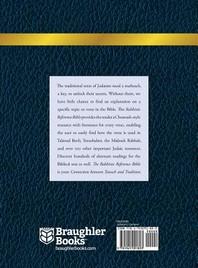 [해외]Rabbinic Reference Bible (Hardcover)