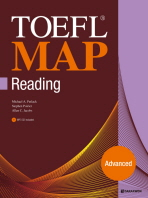 TOEFL MAP READING: ADVANCED(CD1장포함)