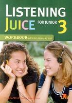LISTENING JUICE FOR JUNIOR. 3 WORKBOOK(Paperback)