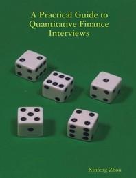 [해외]A Practical Guide To Quantitative Finance Interviews