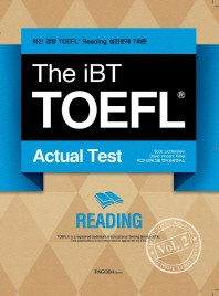 The iBT TOEFL Actual Test Vol. 2: Reading