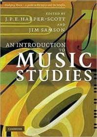 [해외]An Introduction to Music Studies (Paperback)