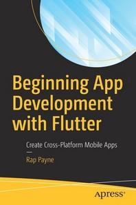 [해외]Beginning App Development with Flutter (Paperback)