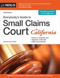 [해외]Everybody's Guide to Small Claims Court in California