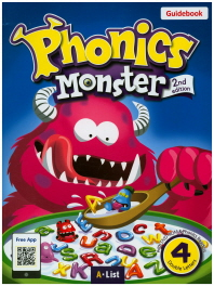 Phonics Monster. 4: Double Letters(Guidebook)(2판)(CD2장포함)
