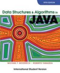Data Structures and Algorithms in Java 5/E: International Student Version (Paperback)