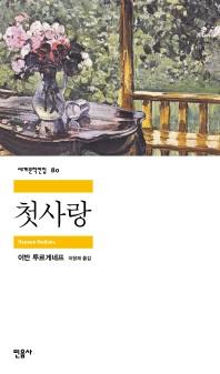 첫사랑(세계문학전집 80)