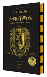 Harry Potter and the Philosopher's Stone Book 1 - Hufflepuff Edition (영국판)