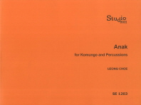 Anak for komungo and percussions(SE 1203)