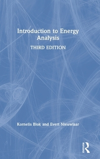 [해외]Introduction to Energy Analysis