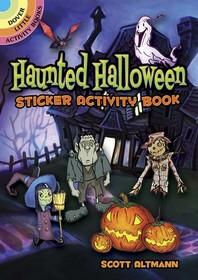 [해외]Haunted Halloween Sticker Activity Book